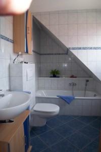 Haus Meeresbrise - Bad oben