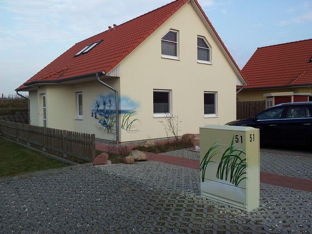 Haus Stranddistel - Auffahrt 2