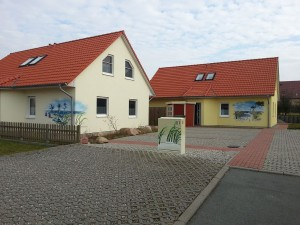 Haus Stranddistel - Auffahrt