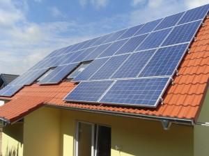 Haus Windflüchter - Solarzellen