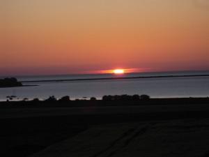 Poel - Sonnenuntergang